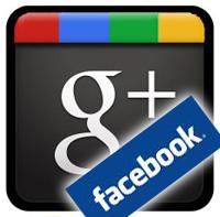 Facebook blocking Google+