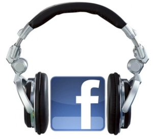 Facebook music with spotify, rdio, rhapsody