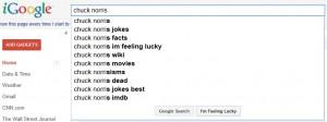 iGoogle I'm Feeling Lucky