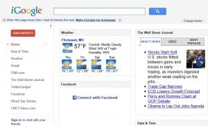 iGoogle new UI
