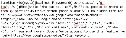 Google Voice Google+ Integration