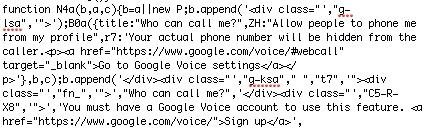 Google Voice Google+ Integration