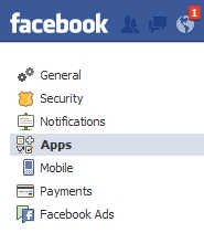 Remove Facebook apps