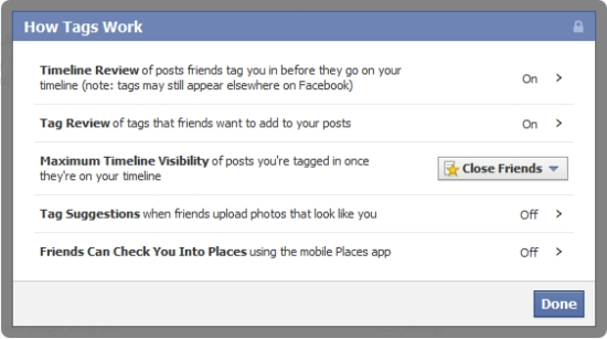 Facebook Timeline Privacy - How Tags Work