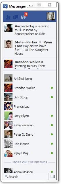 Facebook Tracking through Messenger