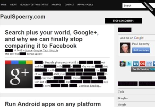 Stop SOPA Censorship