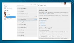 GitHub Windows client dashboard