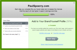 BrandYourself boost your profile Paul Spoerry