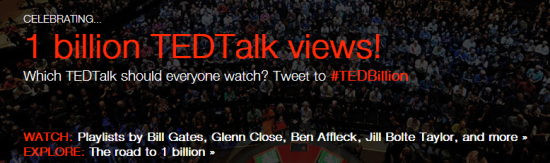 1 Billion TED Talks