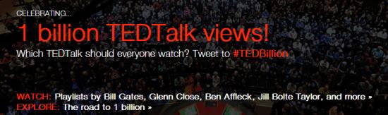 1 Billion TED Talks