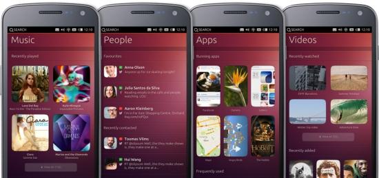 Ubunutu phone OS