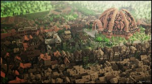 Game of Thrones King's Landing in Minecraft