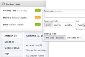 ManageWP backups