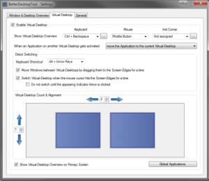 betterdesktoptool expose spaces configuration