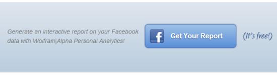 wolframalpha-facebook-generateReport