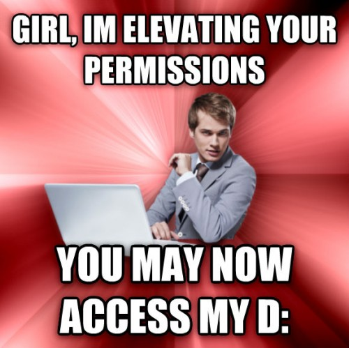 elevating permissions access my d