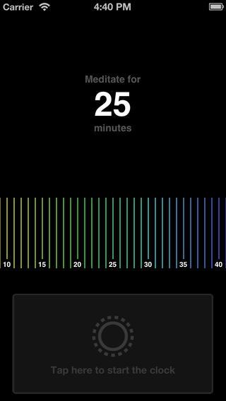mind meditation app meditate for minutes
