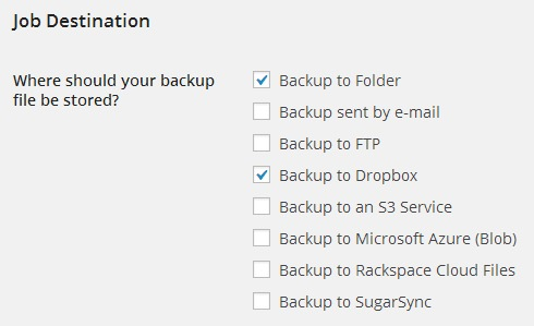 backwpup dropbox error
